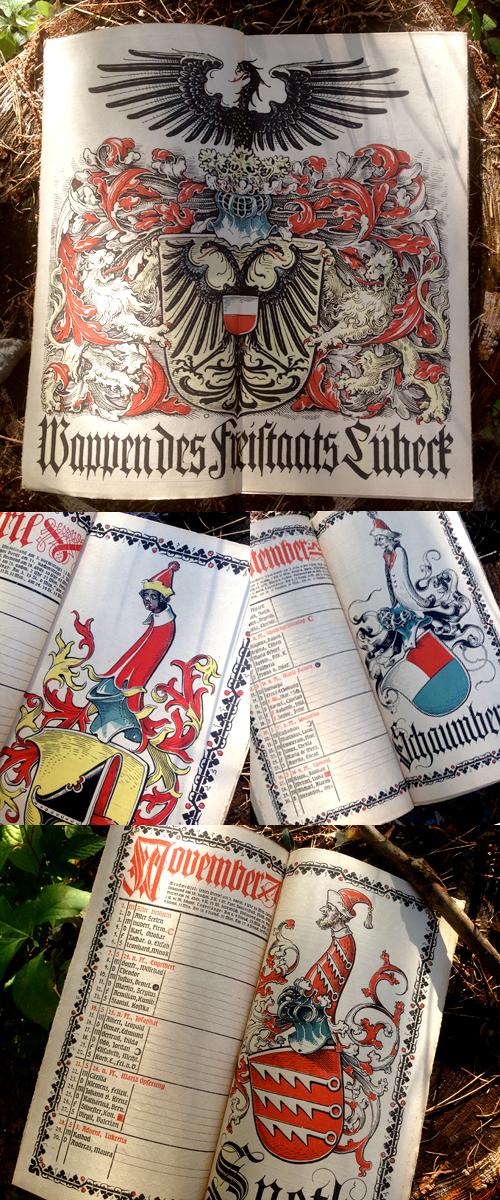 オットーハップのミュンヘンカレンダー1920年