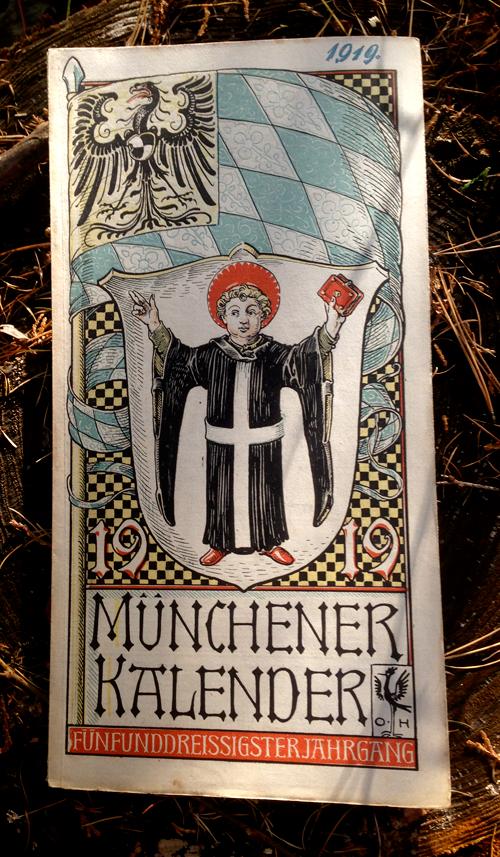オットーハップのミュンヘンカレンダー1919年