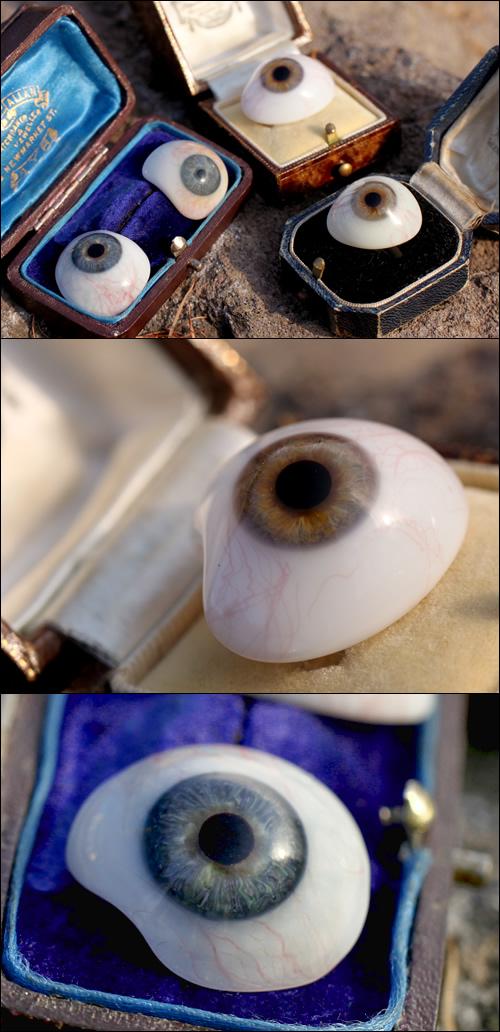 アンティーク義眼