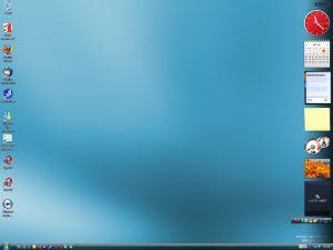 Vista Desktop画面