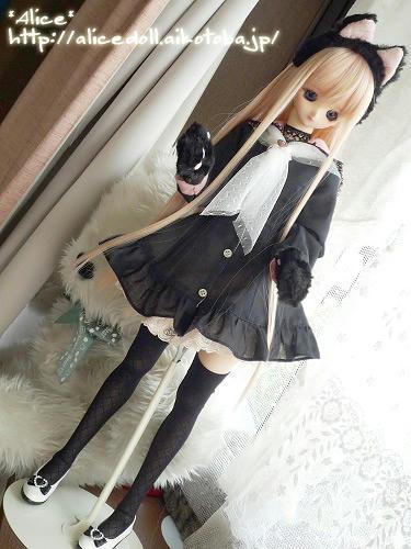 DDフェミyukaさん黒セーラー1