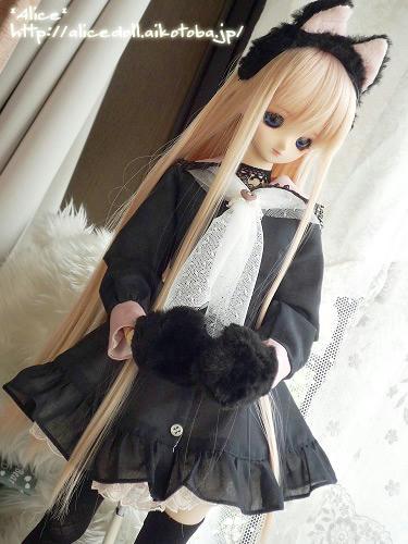 DDフェミyukaさん黒セーラー2