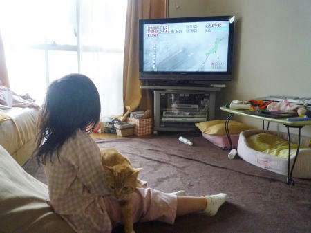東京震度5強の体験