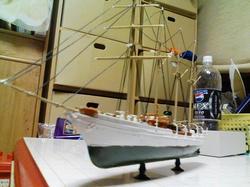 エスメラルダ船体