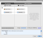sugarsync manage folder