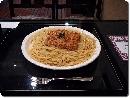 スパゲッティ大盛り