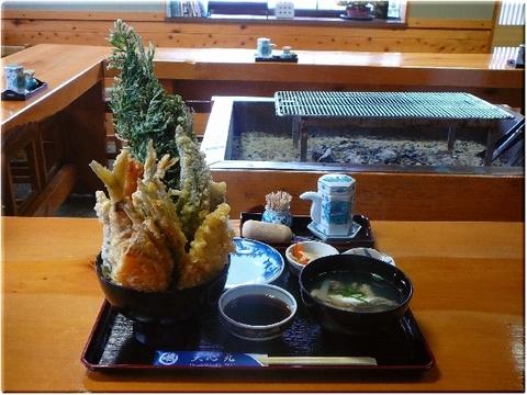 ミックス天丼(天ぷら定食)