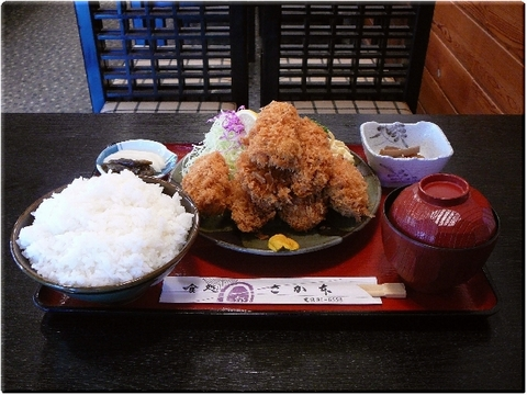 カキフライ定食(大盛り)