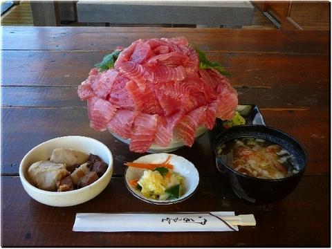中トロ丼・海鮮丼