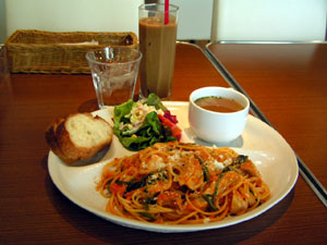 私のお昼ご飯