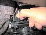 ワゴンR エアコンフィルターのフタ ツマミ2