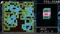地下2階のマップ(不完全)