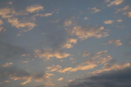 10月28日の朝空