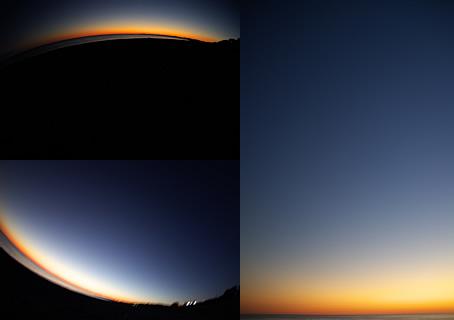 沈後夜景3画