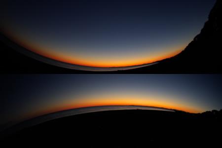 沈後夜景2画