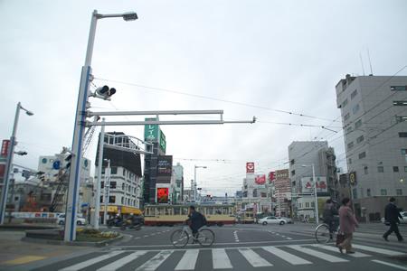今日の高知市(2007年2月25日)