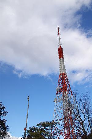 五台山のテレビ塔