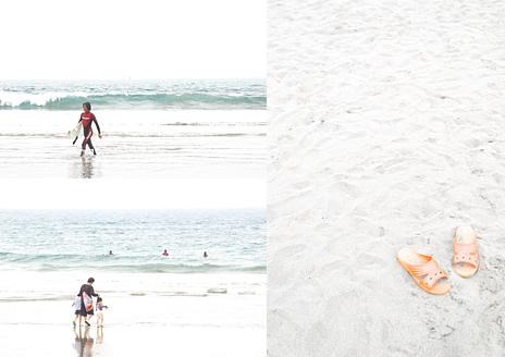 白い砂浜と小さな物語たち from PB