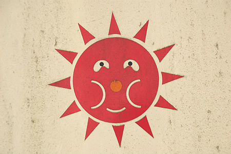 太陽のシンボル:いやらしい ) ゚●゚(