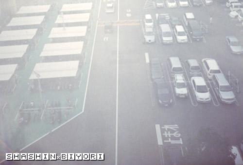 駐車場の静止画
