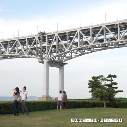 瀬戸大橋にて