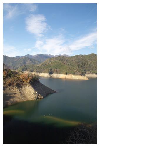 早明浦ダム湖の状況