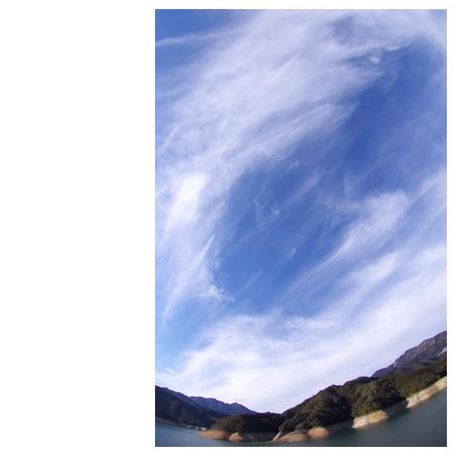 巡る雲の渦