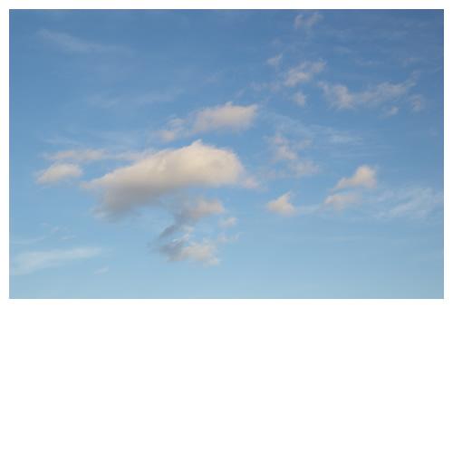 天気予報ではしばらく晴れが続くらしい・・・。