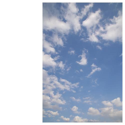 こんな空が好きです。