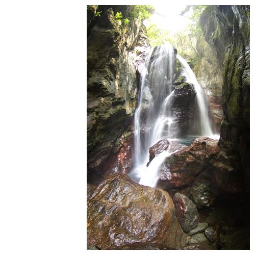 「雨竜の滝」 仁淀川町吾川村