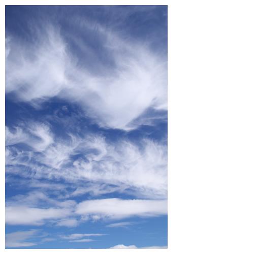 荒ぶる空雲たち