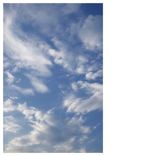 空の戯れと僕の憧れ