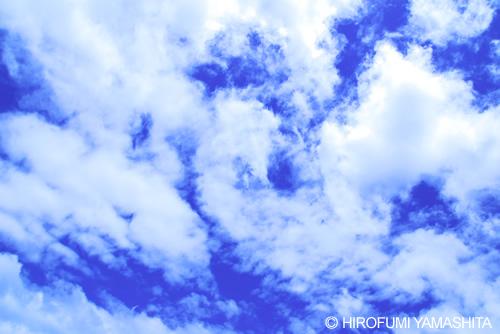 空の青(ブルーノート風)