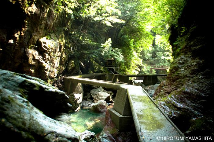 中津渓谷「雨竜の滝」へ久しぶりに行ってきました。