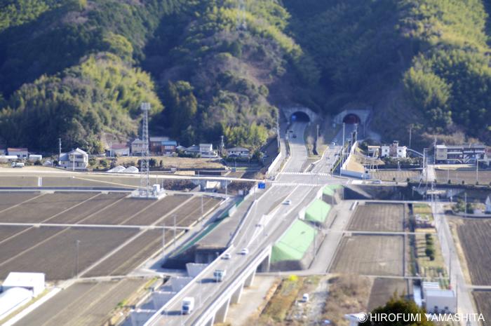 高知ミニチュア撮影計画(376号線トンネル)