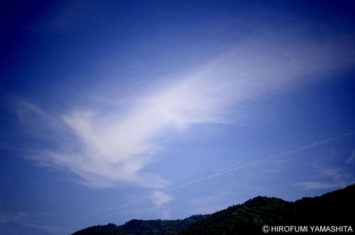 不死鳥(フェニックス)のような雲。