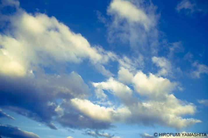 逃げ出したくなる時、空を見上げてた。