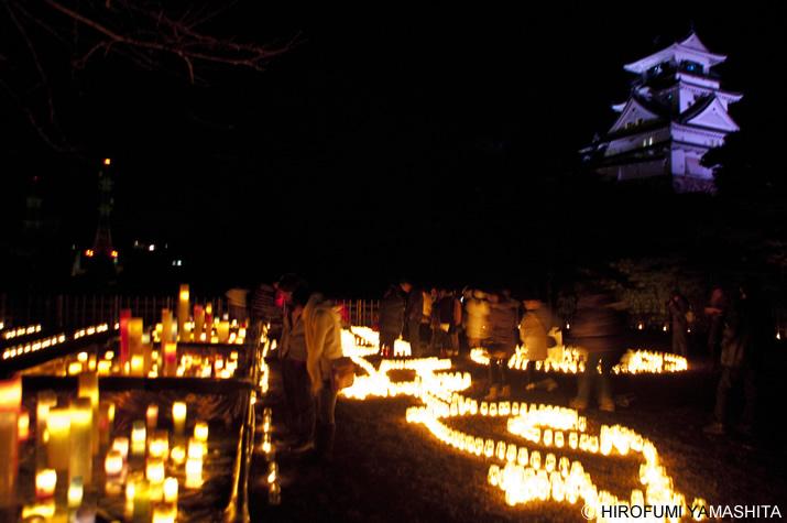 キャンドルナイト2010『土佐ゆめ灯り』