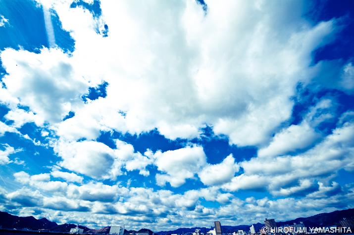 雲、襲来!