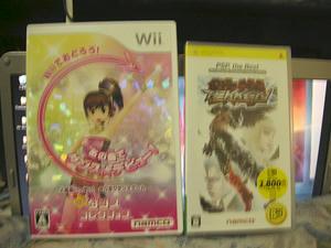ハピコレ&PSP版鉄拳DR