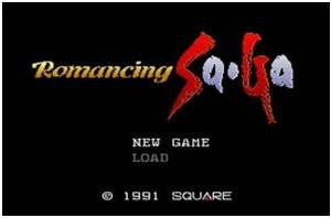 Romancing Sa・Ga(Virtual Cosole)