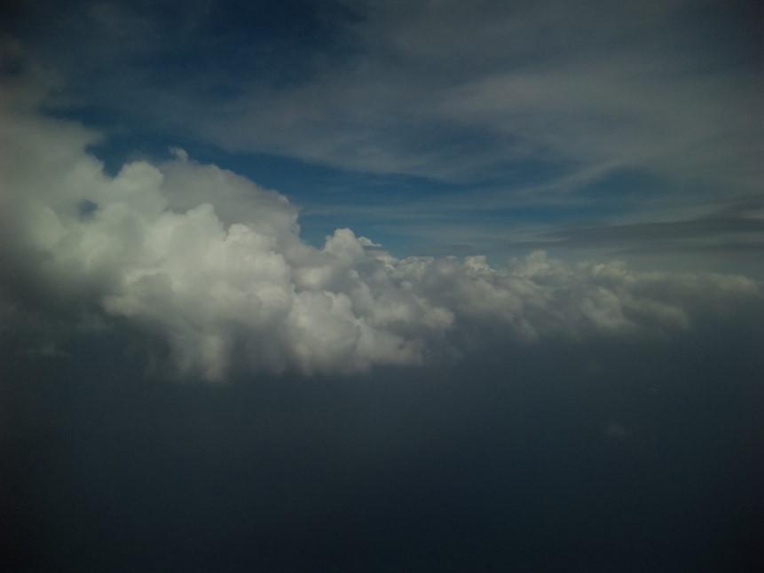 然後越接近台東天氣就越差~~