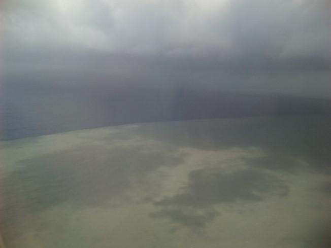 這海好像被油污染過咧((囧