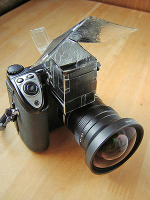 COOLPIX5000内蔵ストロボ用バウンサー