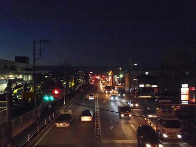 ISO1600夜