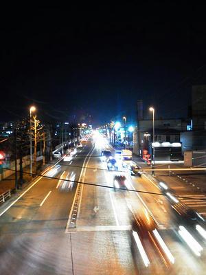 ドコモN-06B夜景撮影夜景モードAWB