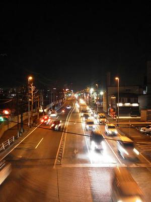 ドコモN-06B夜景撮影標準モードWB晴天