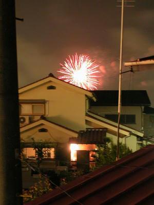 8月3日の花火