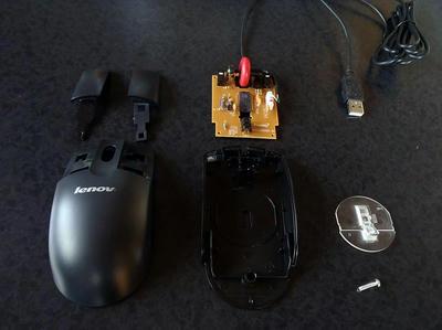 マウス分解清掃