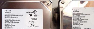 SONY RDR-XH8ハードディスク交換1